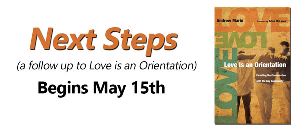 Next Steps continues this Sunday, May 29 @ 9 am