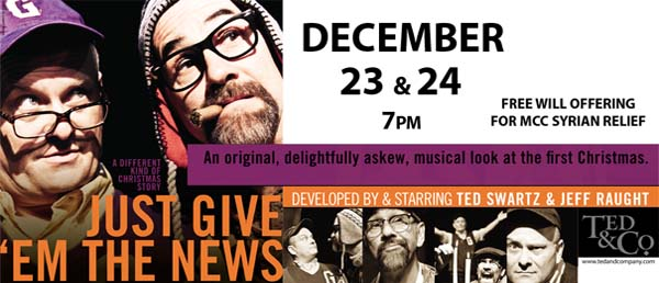 Seeds Church presents: Just Give 'Em the News