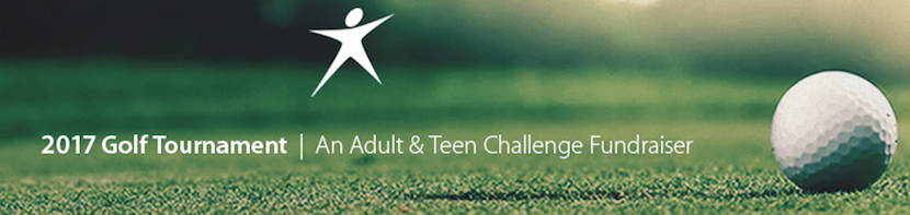 Sponsor Curt N. in Teen Challenge Golf Tournament
