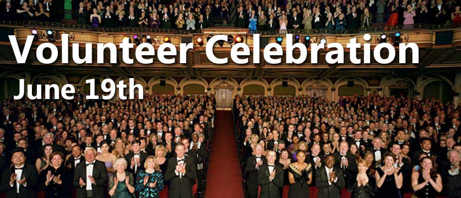 June 19 – Volunteer Celebration, Pool Party & BBQ Lunch