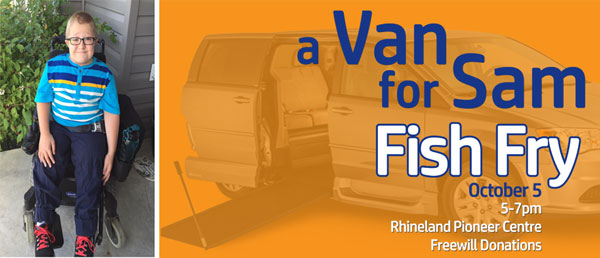 a Van for Sam Fish Fry