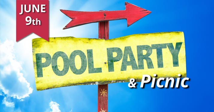 Seeds Poolside Worship & Baptism Service – June 9 @ 10:30 am
