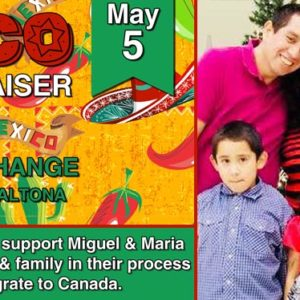 Taco Fundraising Lunch May 5