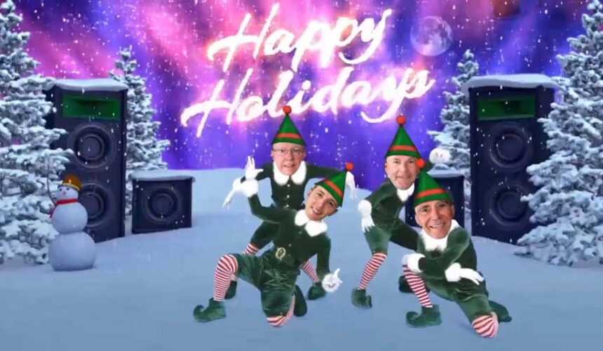 December 17 – Elf yourself!