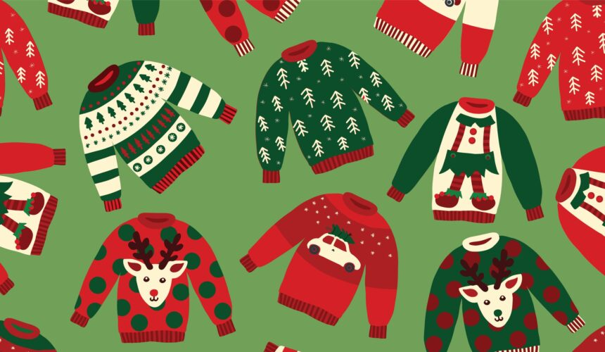 December 22 – Ugly Christmas Sweater Day