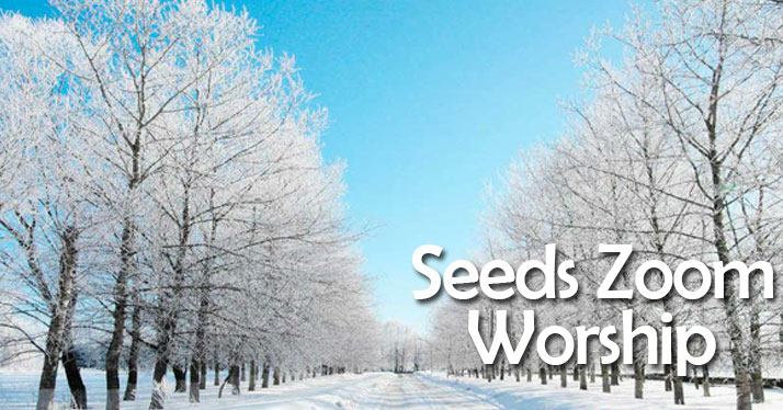 Seeds Worship on Zoom this Sunday, March 7 @ 11am