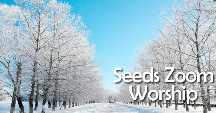 Seeds Worship on Zoom this Sunday, February 21 @ 11am